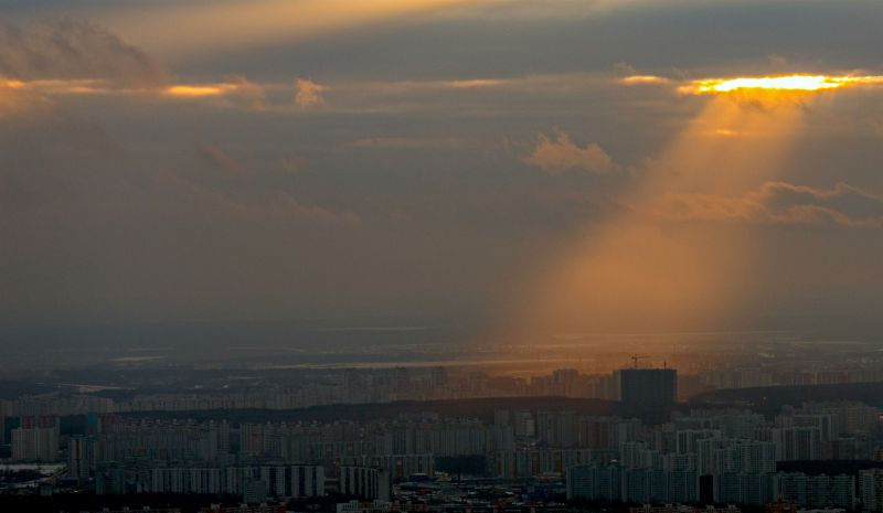 МЧС о высоком уровне опасности в Москве // Global Look press