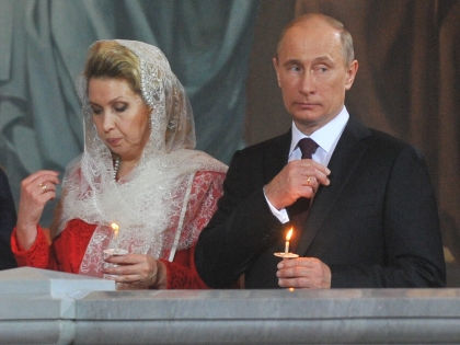 Светлана Медведева и Владимир Путин // Global Look Press
