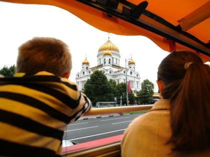 Иностранные туристы в России // Global Look Press