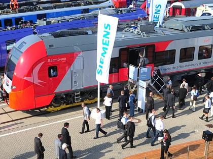"""Хорошо знакомые многим """"Ласточки"""" - это тоже отчасти Siemens, и их поставки в Крым тоже могут оказаться под угрозой из-за непредсказуемого поведения компании // Global Look Press"""