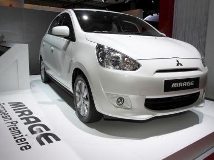Mitsubishi Mirage // Global Look Press