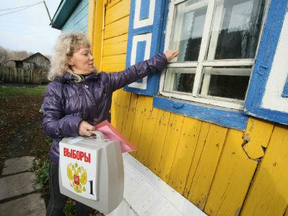 Элла Памфилова не исключила, что участие в выборах станет обязательным // Global Look Press