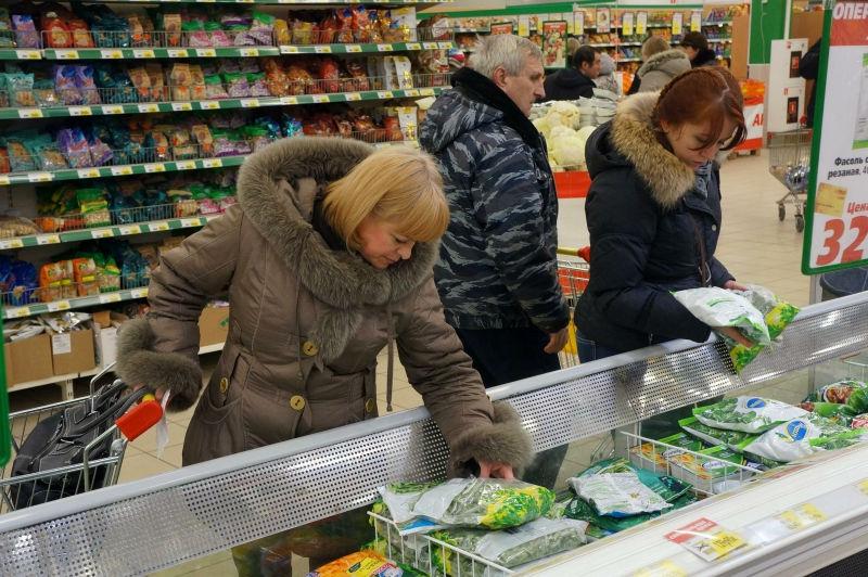 С полок казахстанских магазинов пропал ряд российских продуктов // Global Look Press