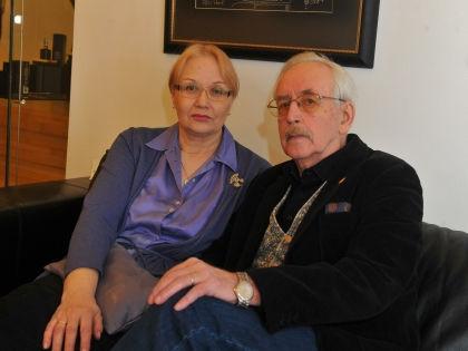 Василий Ливанов с женой Еленой // Russian Look