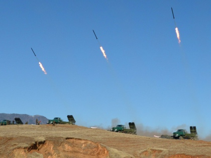 14 минут – ровно столько потребуется северокорейской баллистической ракете, чтобы долететь до американской авиабазы на острове Гуам // Global Look Press
