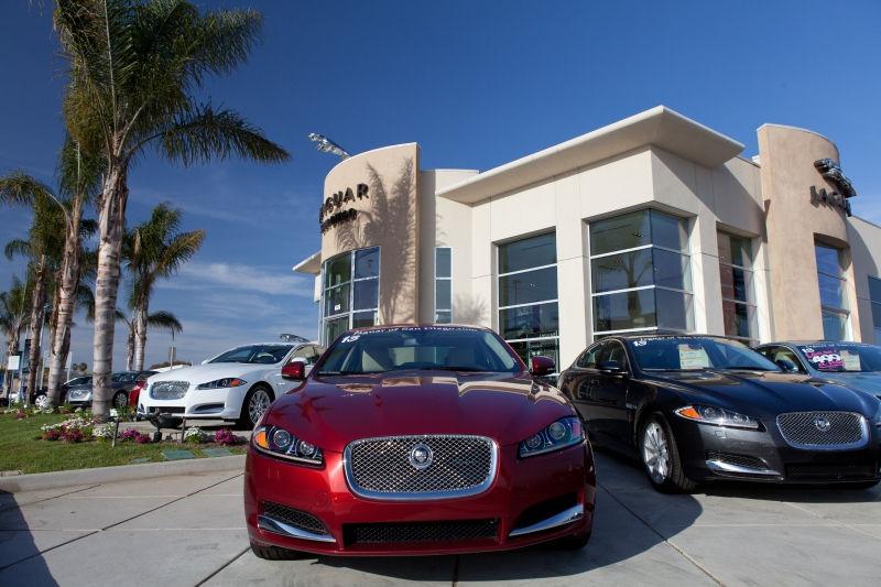 Jaguar представит новую модель на российском рынке // Global Look Press