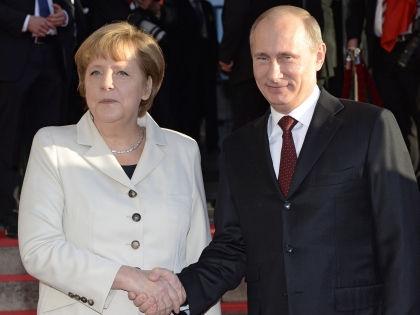 Владимир Путин и Ангела Меркель // Clemens Niehaus / Global Look Press