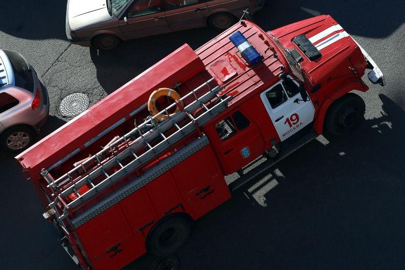 Пожар в детской больнице уже потушили // Dmitry Golubovich/Global Look Press