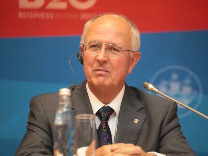 Родней Джон Аллам был награждён Нобелевской премией в 2007 году // Russian Look