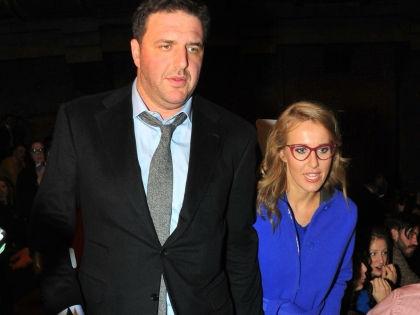 Максим Виторган и Ксения Собчак // Global Look Press