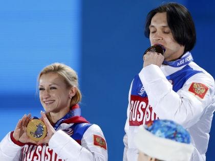 Татьяна Волосожар и Максим Траньков // Global Look Press