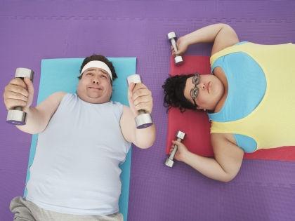 Занятия в фитнес-клубе без предварительной консультации у врача могут быть опасны для здоровья // Global Look Press