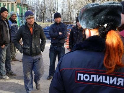 В МВД опасаются роста националистических настроений из-за убийства 4-летней девочки // Андрей Пронин / Global Look Press