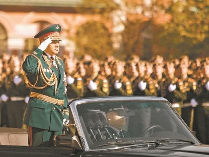 Министр обороны Сергей Шойгу // Global Look Press