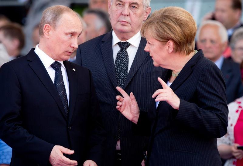 Меркель назвала причину посещения Москвы // Global Look Press