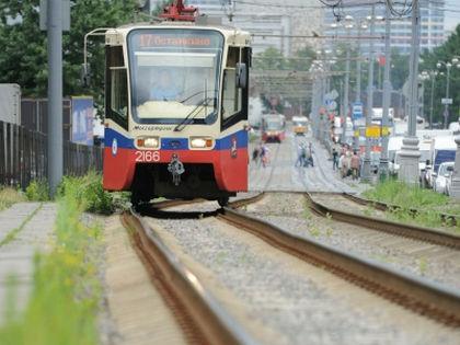 Трамвайные пути // Антон Белицкий / Global Look Press