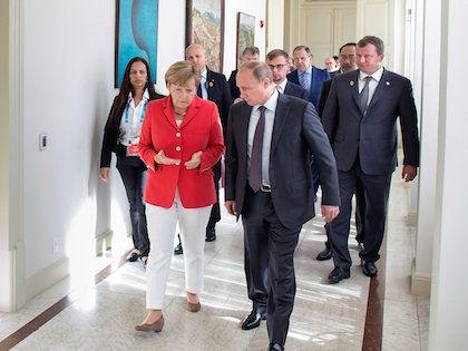 Владимир Путин и Ангела Меркель // Global Look