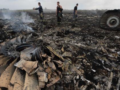 Пассажирский «Боинг» сбили на Украине 17 июля 2014 года // Global Look Press