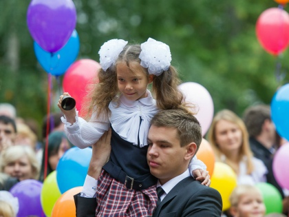 Для любого ребенка первый школьный год является стрессом, ведь жизнь изменяется кардинально // Global Look Press