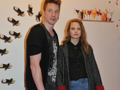 Никита Пресняков с Алёной Красновой // Global Look Press