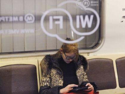 С wi-fi в московском метро возникли трудности // Антон Белицкий / Global Look Press