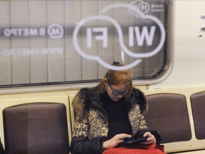 Wi-fi в московском метро // Антон Белицкий / Global Look Press