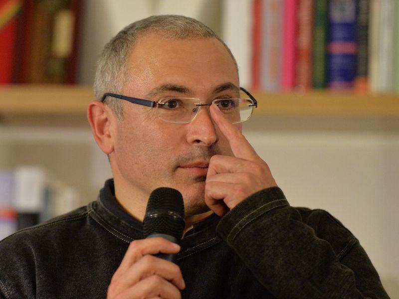 Ходорковский поддержит объединенную оппозицию // Global Look Press
