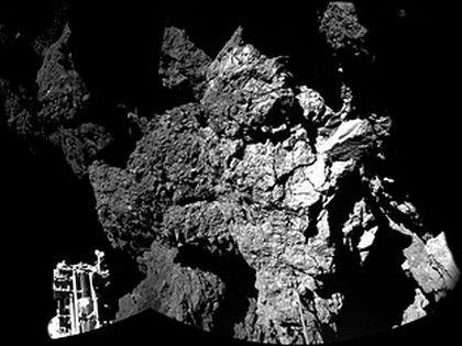 Модуль «Фила», находящийся на комете Чурюмова-Герасименко, потерял связь с зондом «Розетта» несколько дней назад. // Global Look Press