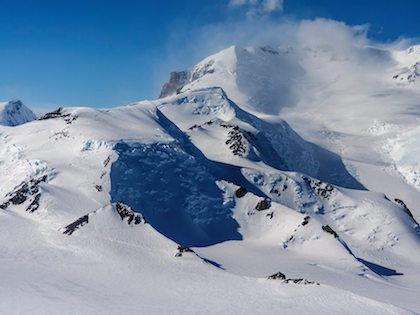 Во время восхождения на пик Винсон температура была -40 C // Global Look