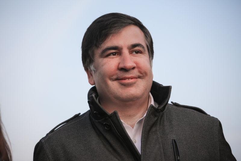 Саакашвили стал гражданином Украины // Oleg Pereverzev/Global Look Press