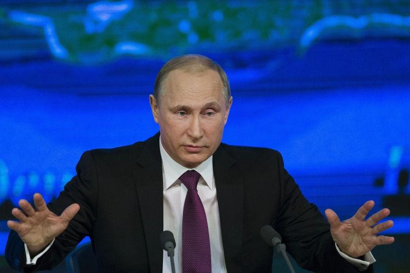 Стала известна причина обогащения Путина в 2014 году // Pavel Golovkin/Global Look Press