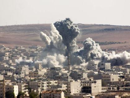 30 сентября российские ВВС нанесли первые удары по объектам ИГИЛ в Сирии // Global Look Press
