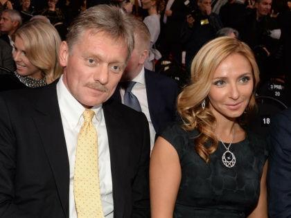 Дмитрий Песков и Татьяна Навка // Анатолий Ломохов / Global Look Press