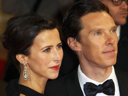 Британский актер Бенедикт Камбербэтч и его супруга Софи Хантер //  Global Look