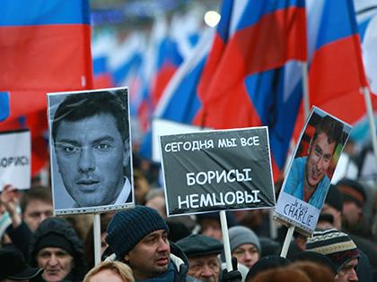 Марш памяти Бориса Немцова прошел в Москве 26 февраля // Дмитрий Голубович / Global Look Press