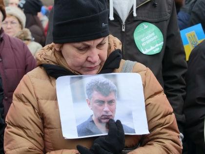 Марш памяти Немцова в Санкт-Петербурге, 2015 г. // Замир Усманов / Global Look Press