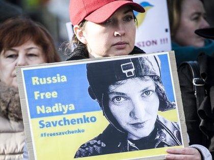 Надежда Савченко прервала голодовку в московском СИЗО // Global Look Press