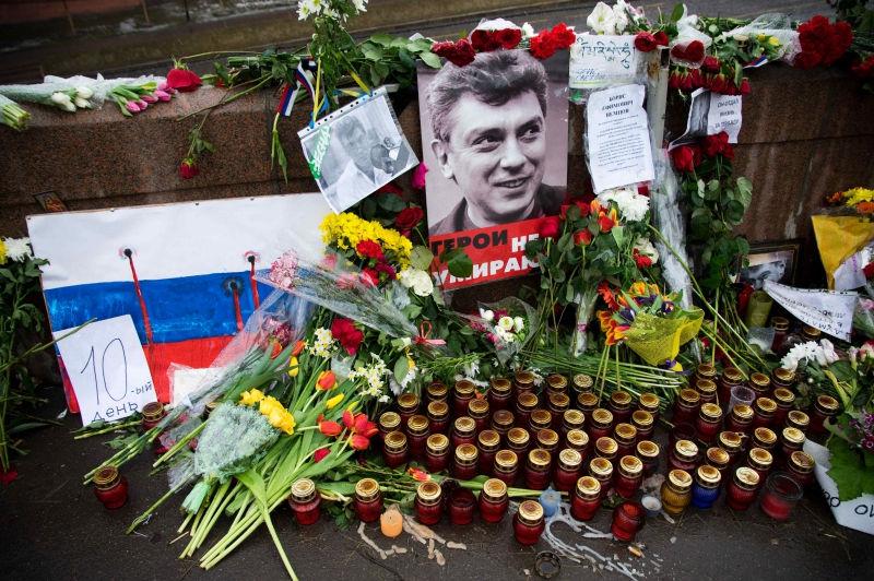 Песков заявил, что СМИ не знают о реакции Путина на убийство Немцова // Global Look Press