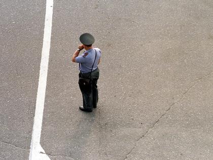Одна полицейская пуля травмировала сразу двух угонщиков // Global Look Press
