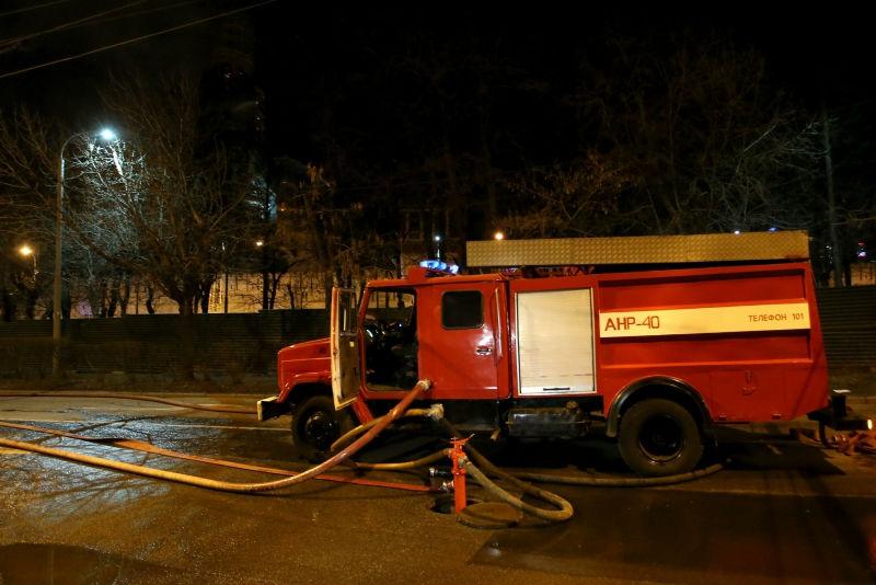 В Забайкалье горят боеприпасы // Global Look Press