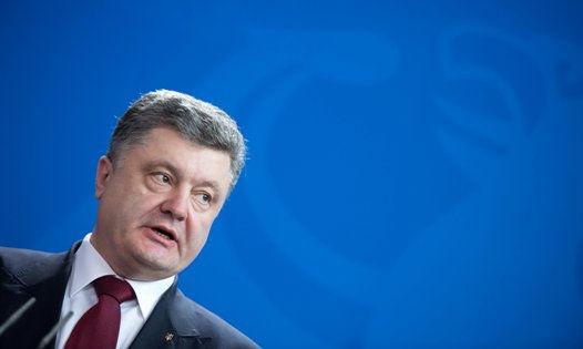 Петр Порошенко объявил выговор Коломойскому за то, что тот обматерил журналиста // Global Look Press