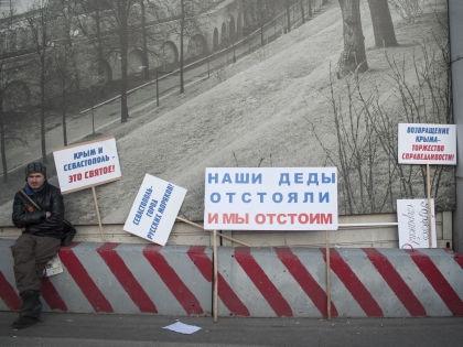 «Вот что в России хорошего происходит?»  // Global Look Press