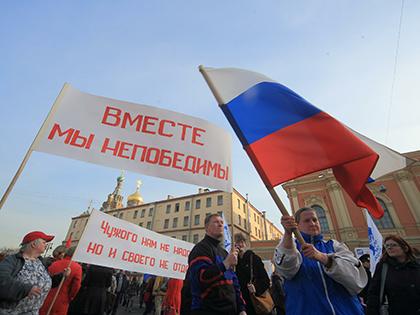 Отношение россиян к Грузии и Украине улучшилось // Замир Усманов / Global Look Press