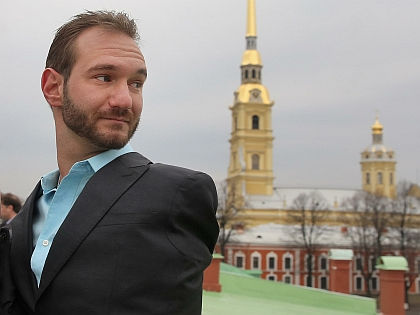 Ник Вуйчич в Санкт-Петербурге // Global Look Press