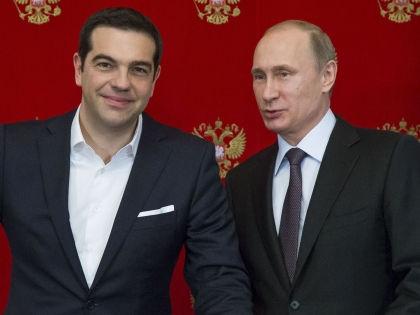 Алексис Ципрас и Владимир Путин // Global Look Press
