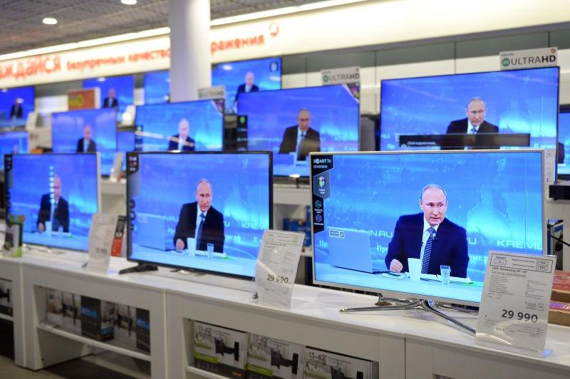 Путин 4 часа отвечал на вопросы граждан // Global Look Press