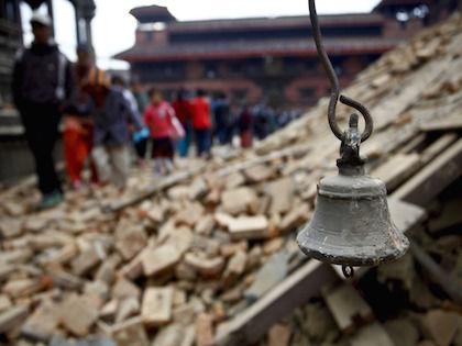 Землетрясение в Непале магнитудой 7,4 произошло в субботу, 25 апреля //  Global Look