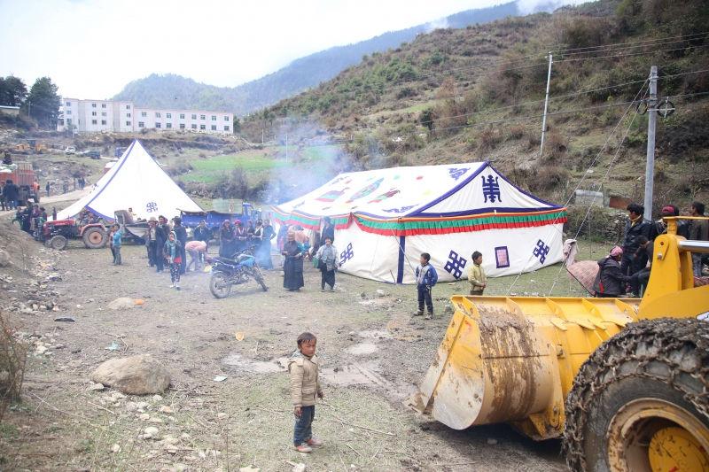 Землетрясение в Непале затронуло тысячи людей // Global Look Press