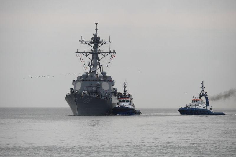 Эсминец США посетил Грузию // Global Look Press