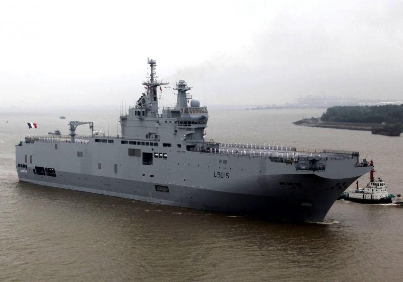 Франция не сможет продать корабли без ведома России // Global Look Press